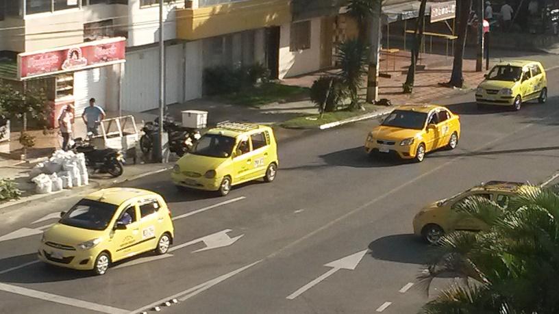 Alcaldía no autorizó cobro de prima navideña a taxistas y recomendó a usuarios  no pagarla. FOTO CORTESÍA.