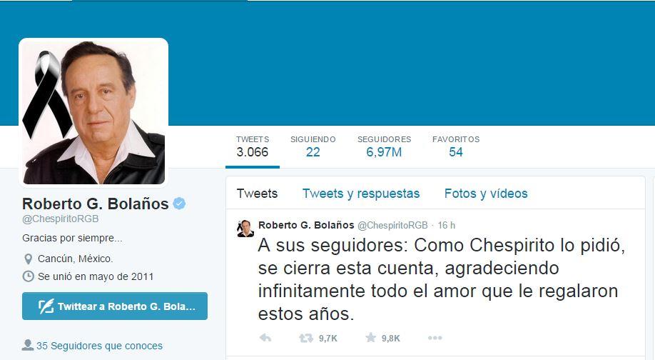Cancelacion_cuenta_de Twitter_de_chespirito
