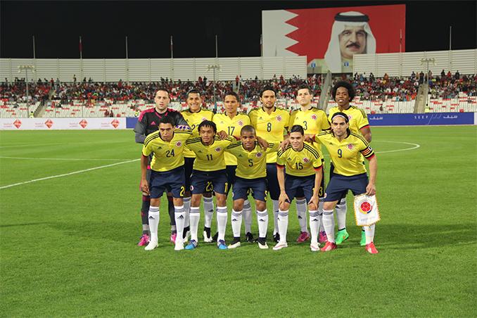 selección Colombia en oriente
