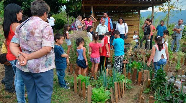 El proyecto de sistemas agroecológicos es una idea de innovación sostenible. Foto: CORTESÍA.