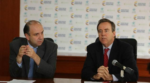 """Foto: CORTESÍA. El Gobierno y USAID firmaron el """"memorando de entendimiento!."""