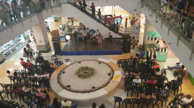 Foto: Cortesía. Los centros comerciales San Diego, Viva Laureles, Premium Plaza, Unicentro y Los Molinos, se vincularon a la jornada.