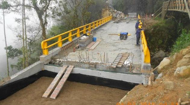 Puente nuevo.