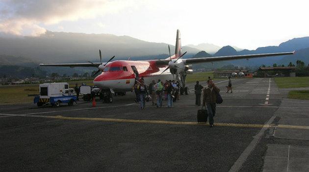 Foto: Cortesía. Aeropuerto La Nubia de Manizales
