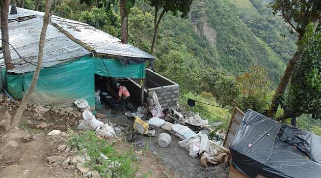 Mineros en Buriticá. Foto: ARCHIVO
