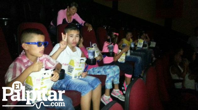 niños cine 2