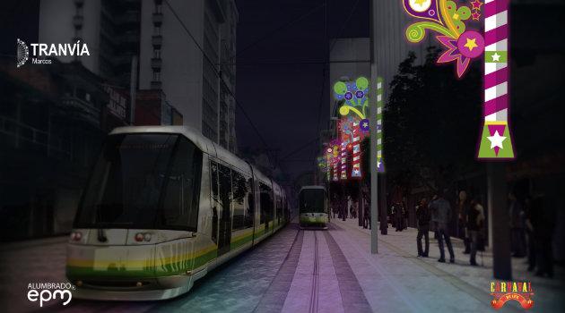 Alumbrados_Tranvía