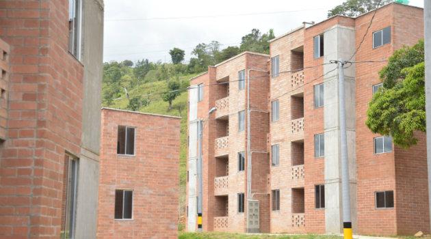 Viviendas Gratis en Cañasgordas, Occidente de Antioquia. Foto: CORTESÍA