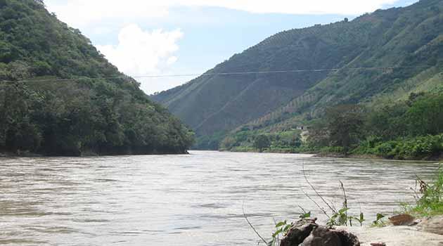 Río Cauca. Foto: ARCHIVO