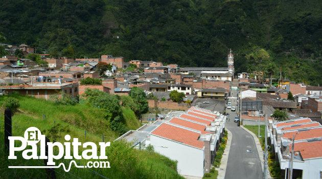 Viviendas en San Andrés de Cuerquia, Norte de Antioquia.