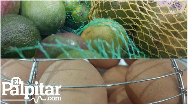 Las frutas suben sus precios y los huevos permanecen con su costo estable.