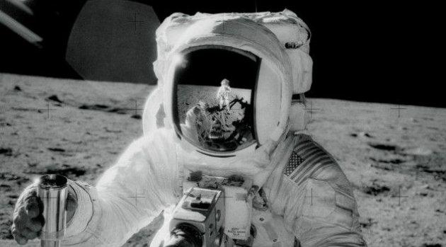 El astronauta Alan L. Bean durante la misión Apolo 12. Foto: CORTESÍA