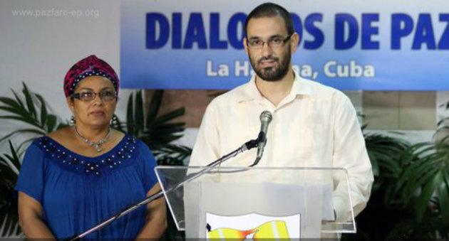 """Alias """"Lucas Carvajar"""", vocero de las Farc. Foto: CORTESÍA"""