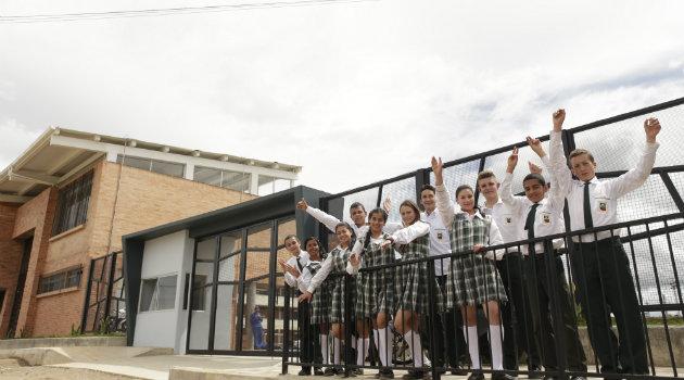 Colegio Cardenal Aníbal en Santa Rosa