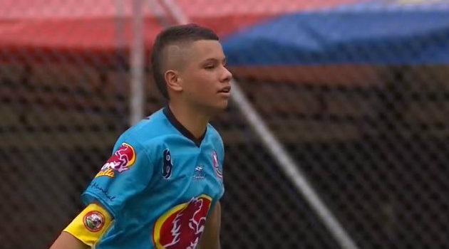 Jostin Ángel, volante y capitán del equipo de El Pinar. Foto: CORTESÍA