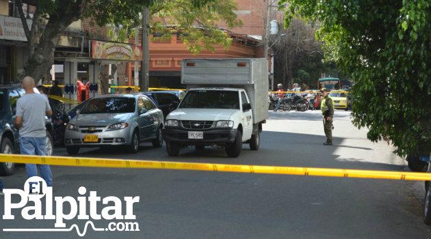 Lugar en Prado Centro donde ocurrió el ataque.