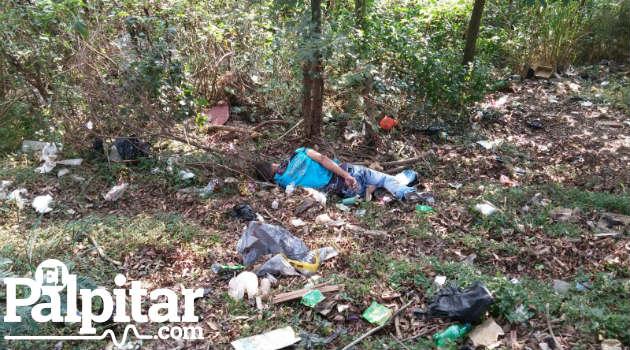El hombre se encontraba en una cañada cerca a la quebrada La María.