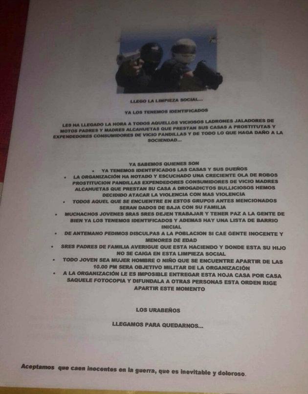 panfleto_ciudad_bolivar_urabeños2