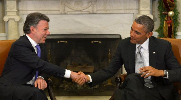 Santos y Obama