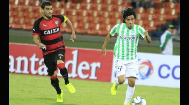 Sherman Cárdenas regresa con el equipo verde luego de su paso por el fútbol de Brasil. Foto: CORTESÍA