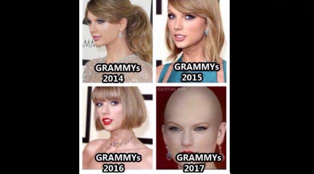 El corte de Taylor Swift inspiró varios memes.