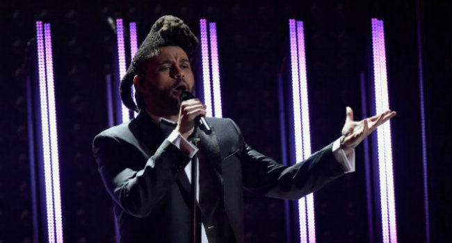 The Weeknd interpretó sus éxitos In The Night y Can't Feel My Face. FOTO: CORTESÍA.