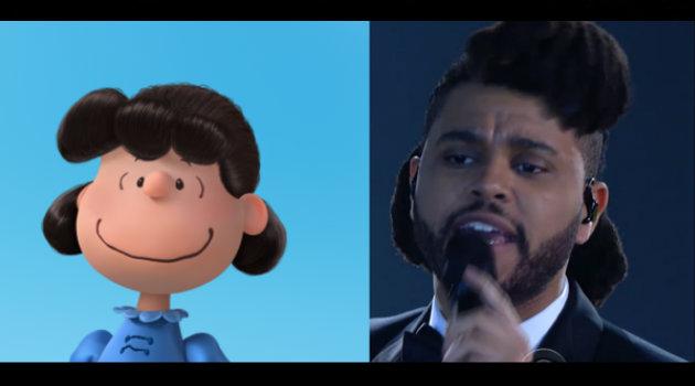 The Weeknd no se escapó de las bromas.