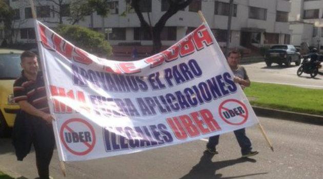 Taxis_Uber_Protestas1