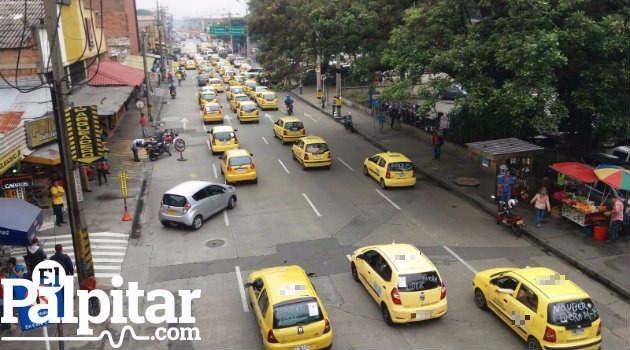 Taxis_Uber_Protestas_Medellín5