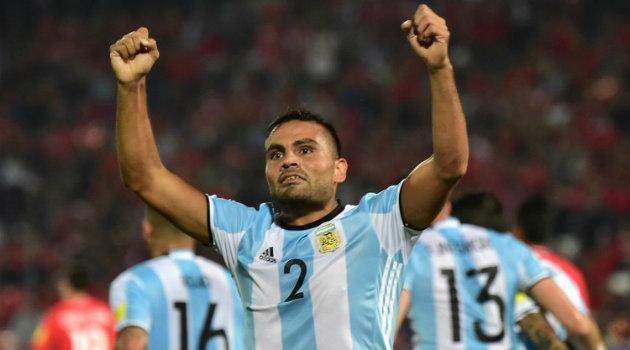 Gabriel Mercado puso el segundo gol que le dio la victoria a la Argentina. Foto: CORTESÍA