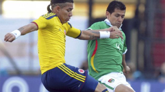 Dayro Moreno sería titular esta tarde en el juego amistoso ante Haití. Foto: ARCHIVO