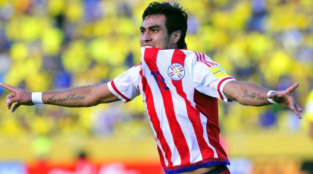 Darío LezcanO, con un doblete, se encargó de dar el gran susto en Ecudor. Foto: CORTESÍA