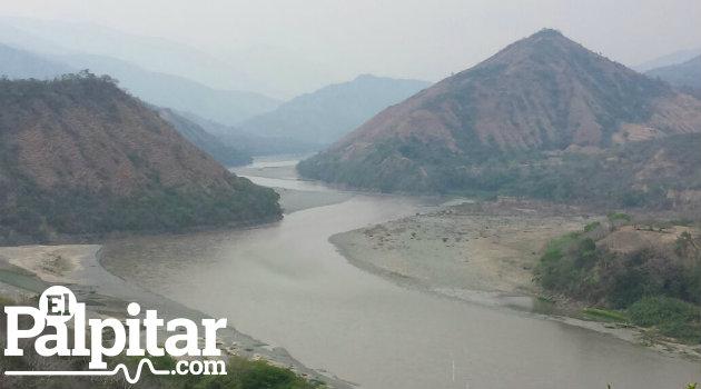 Río Cauca a la altura de Santa Fe de Antioquia, lugar del accidente. Foto: ARCHIVO