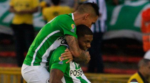 Orlando Berrío igualó el juego a los 68 minutos y decretó el definitivo 3-2 para Nacional a los 79. Foto: CORTESÍA