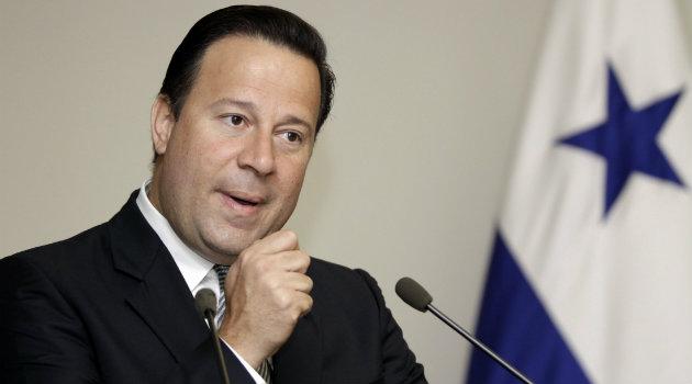 Juan Carlos Varela, presidente Panamá. Foto: CORTESÍA