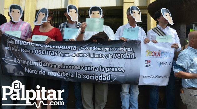 Periodistas_Plantón