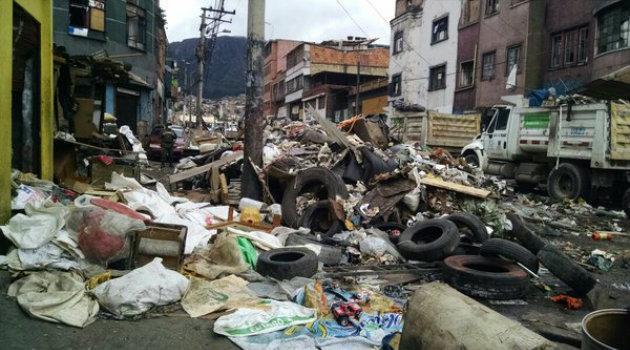 Toneladas de basura fueron removidas tras el operativo. Foto: CORTESÍA