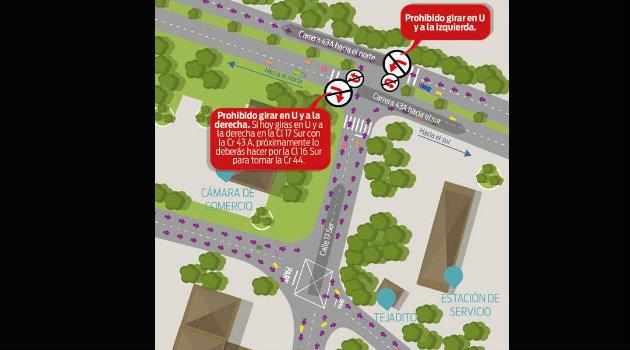 Foto: CORTESÍA- Secretaría de Movilidad de Envigado.