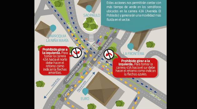 Foto: CORTESÍA-Secretaría de Movilidad de Envigado