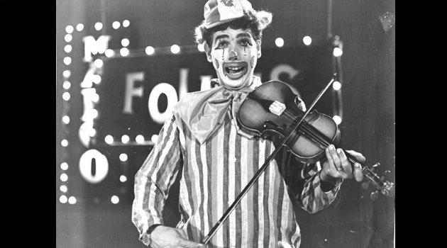 Rubén Aguirre en gira con su espectáculo circense. Foto: Cortesía.