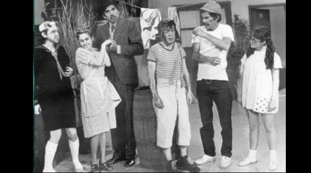 Elenco del Chavo del 8 en su primera temporada, en 1973. Foto: Cortesía.
