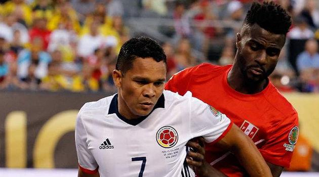 El delantero se recuperó y sería el referente de área ante los chilenos. Foto: CORTESÍA FCF