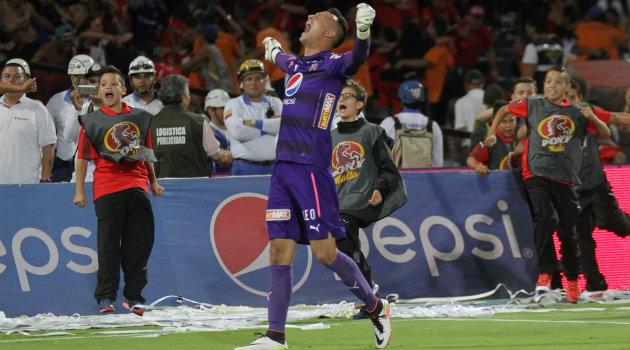 David González, figura de Medellín para lograr este paso a la final ante el Cortuluá. Foto: CORTESÍA