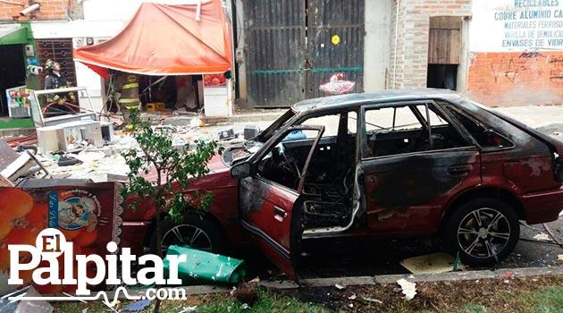 La explosión de una pipeta de gas al interior de un establecimiento comercial en Belén, ocurrido el pasado viernes 3 de junio.