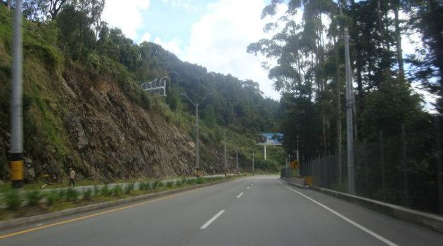 Vía Las Palmas. Foto: CORTESÍA.