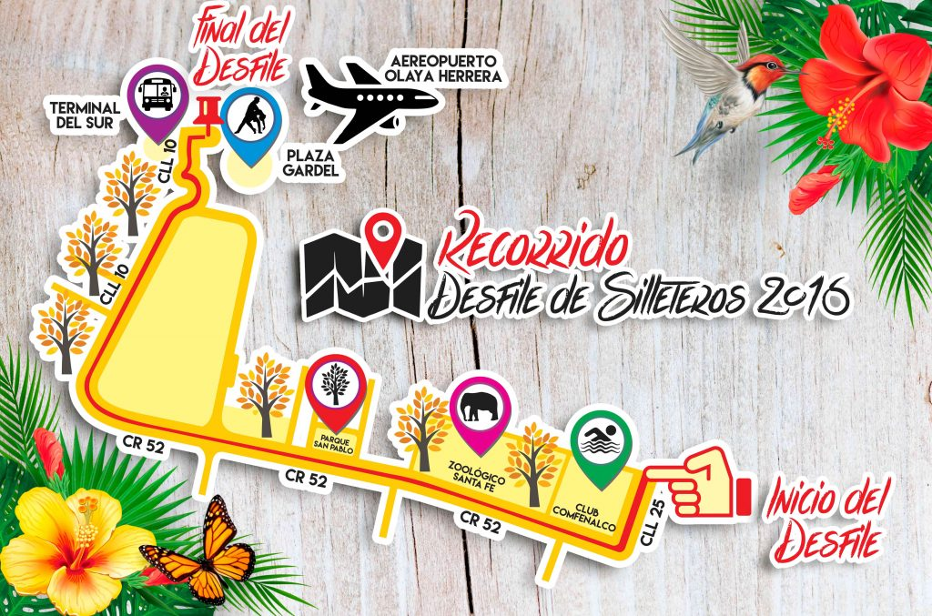 Recorrido_Desfile_Silleteros