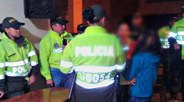 menores_bares_policía_donmatías