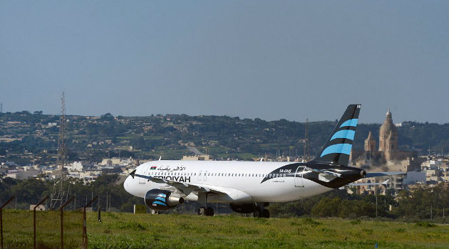 Avión-Libia-Cortesía