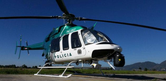 Helicóptero-Medellín