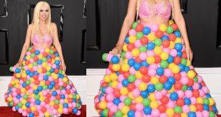 Galería: Los trajes más polémicos en los Grammy